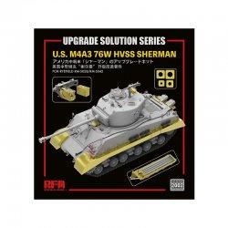U.S M4A3 76W HVSS SHERMAN upgrade solution, 1/35
