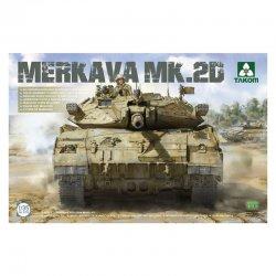 Merkava Mk 2D, 1/35