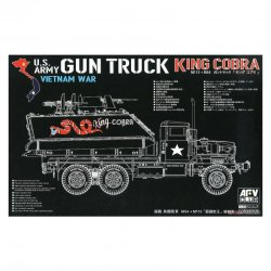 "US Army Vietnam was Gun Truck ""King COBRA"", 1/35"