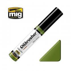 OLIVE GREEN - Oilbrusher