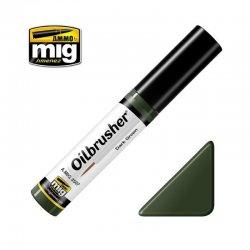 DARK GREEN - Oilbrusher
