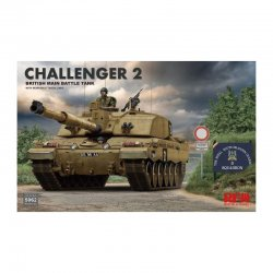Challenger II British Main Battle Tank, 1/35