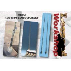 SEM80/90 Aerials, 1/35