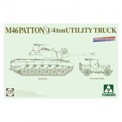 M46 Patton & 1/4 ton...