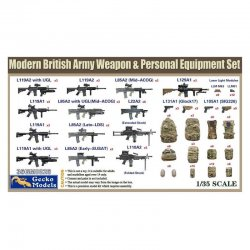 Weapon & Equipment Set, 1/35