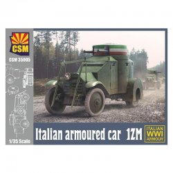 Italian Armoured Car IZM, 1/35