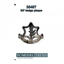 IDF Plaque