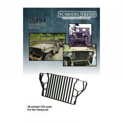 Willys Jeep slats grille,...