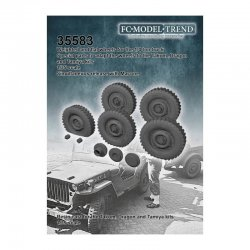 Jeep, weighted wheels +...