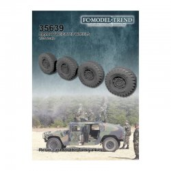 HMWWV weighted wheels, 1/35...