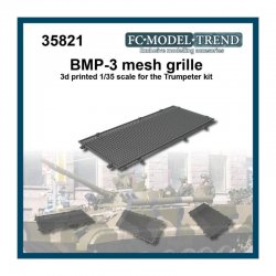 BMP-3 mesh grille, 1/35 scale