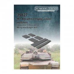 M1 Abrams mesh grilles....