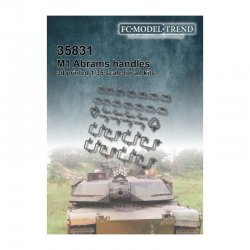 M1 Abrams, handles and...
