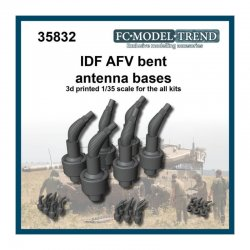 IDF AFV bent antenna bases,...