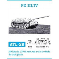 PZ III/IV 1/35 metal tracks