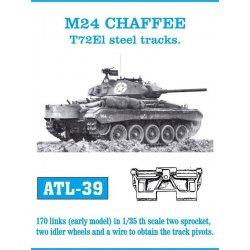 M24 CHAFFEE T72El steel...