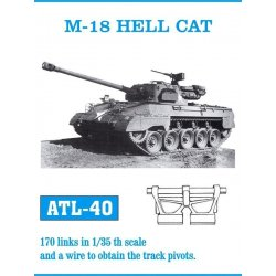 M-18 HELL CAT 1/35 metal...