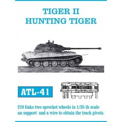 TIGER II HUNTING TIGER 1/35...