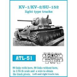 KV-1 / KV-2 / SU-152 light...