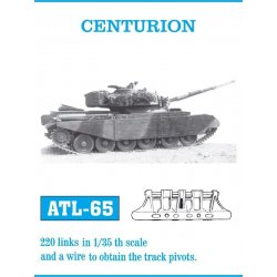 CENTURION 1/35 metal tracks