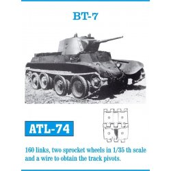 BT-7 1/35 metal tracks