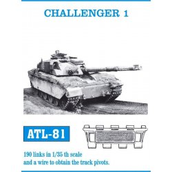 CHALLENGER 1 1/35 metal tracks