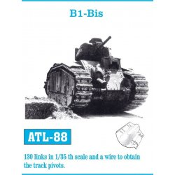 B1-Bis 1/35 metal tracks