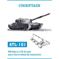 CHIEFTAIN 1/35 metal tracks