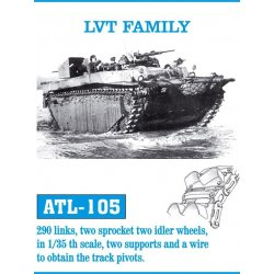 LVT FAMILY 1/35 metal tracks
