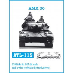AMX-30 1/35 metal tracks
