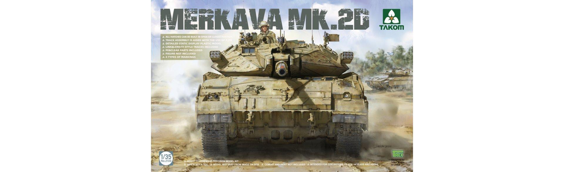Merkava Mk 2D